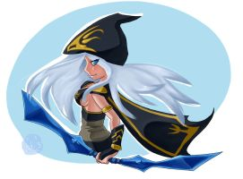 Ashe - LoL by IVchan