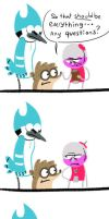 Regular Show: First meeting by SugarKills
