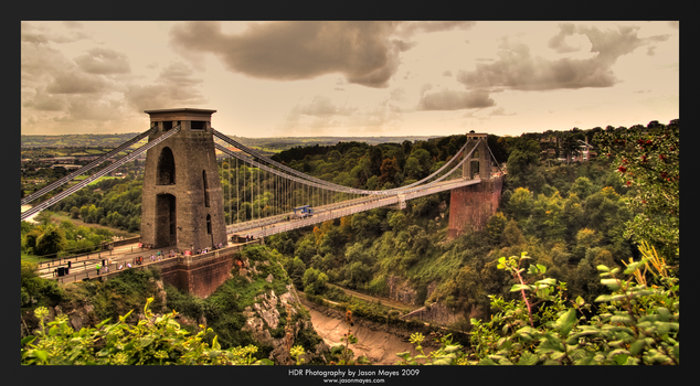 Suspension Bridge by FreakyDreamer