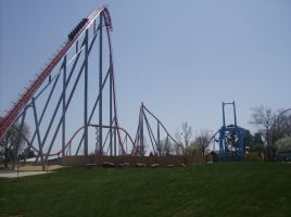 Carowinds - Intimidator by JShafer
