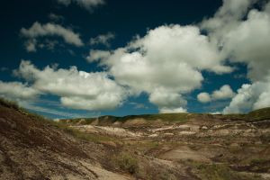 The Badlands no. 4 by alexettinger