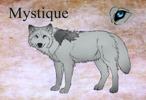 Mystique ref by TheMysticWolf