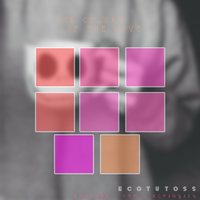 The Colors Of The Love - Photoshop Swatches by TVeCoTutoss