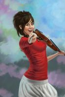 Lindsey Stirling by Hoofenpoof