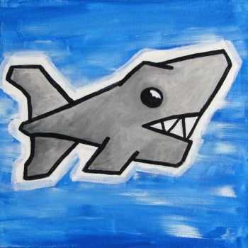 Shark by alispagnola