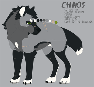 CHAOS REF. SHEET by Vencentio