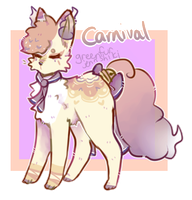 [closed] Carnival Soulfox Auction by greenfurkitti