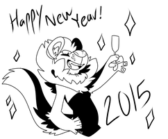 New Year by CremexButter