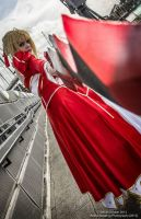Saber Nero Cosplay (London MCM Expo 2013 October) by TauraSakura