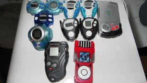 Digivice collection Updated! by Raded-Raikage