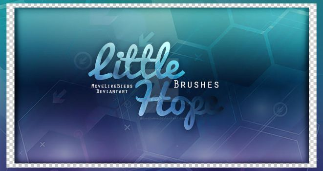 +Little Hope Brushes by MoveLikeBiebs