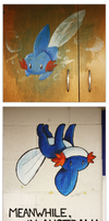 ART ROOM MUDKIPS by blazegryph
