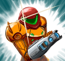 Metroid by Skai-Rue