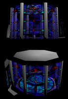 MMD Stain Glass Stage by mbarnesMMD