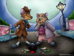 Great Mouse Detective by ElectricDawgy