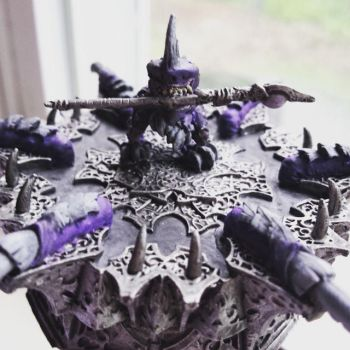 Throne Of Everblight Shredder by thesithgirl