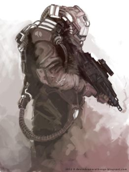 Space Marine by Devin87