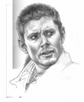 Dean Winchester sketch by manycomics