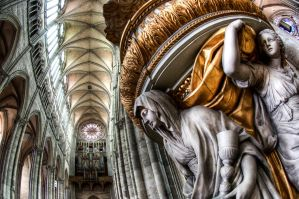 Amiens Cathedral HDR by Mjag