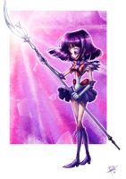 Sailor Saturn by obscureBT