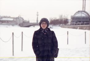In snow Moscow by NomiZ25