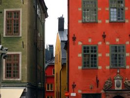 Colors of Stockholm by bezzo