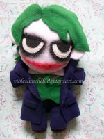 Batman Joker plushie by VioletLunchell