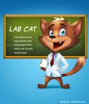 Lab Business Cat by greatdiane