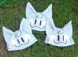Kitty hats for Bernadette 2 by The-Cute-Storm