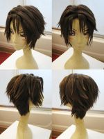Squall Wig Commission by red-cluster