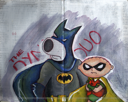 The Dynamic Duo by Violet--Gypsy