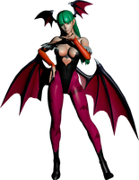 Morrigan MVC3 Render by BriellaLove