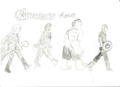 Avengers Road by Author4ever