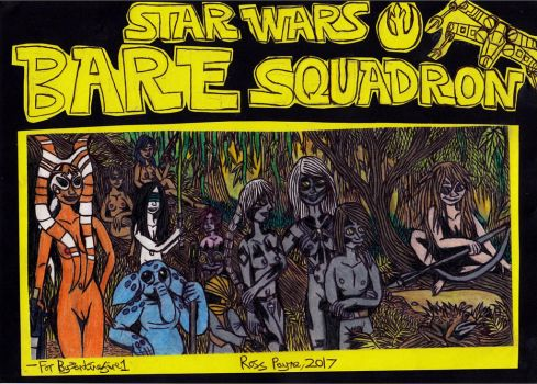 Star Wars: Bare Squadron by Khialat