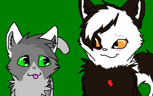 Mentor And Apprentice -stonepaw And Specklenose- by PI0SON