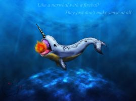 The Narwhal by Flooboo