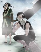Zabuza and Haku by godzilla23