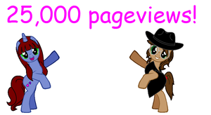 25,000 Pageviews by sonamy-666