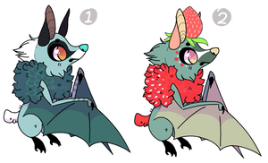 Fruit Bat Adoptables :CLOSED: by Sutexii