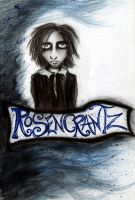 Blue Rosencrantz by MichellePrebich