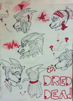 Red Dread Dead by GREE-C