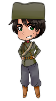 WW1 Serbia chibi by Bambj