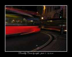 Piccadilly Circus by night - 1 by lexidh