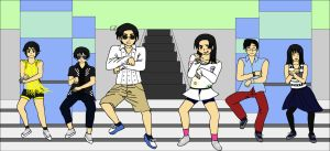 APH: GANGNAM STYLE by thingy-me-jellyfis