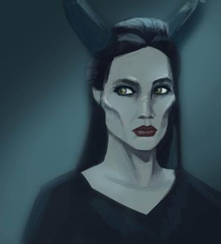 Maleficent by mirics