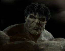 Early Hulk 3 by aaronsimscompany