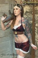 Blooming Bodacious Steampunk Bikini Made to order by SteaMiscellania