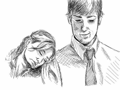 Jim and Pam by twrl11