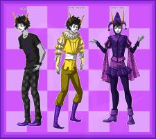 Gamzee Designs by EiraQueenofSnow