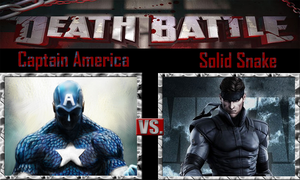Captain America vs Solid Snake by SonicPal